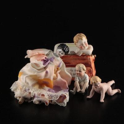 Porcelain Children Motif  Figurines