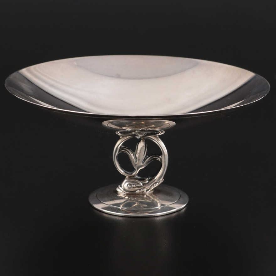 Tiffany & Co. Sterling Silver Compote, Mid-20th Century