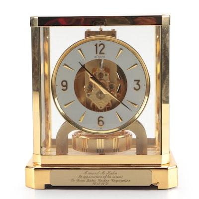 LeCoultre & Cie Atmos Balance Clock, 1972