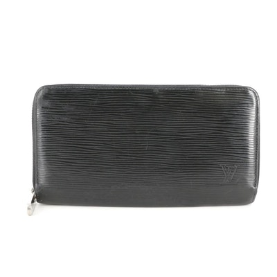 Louis Vuitton Zippy Wallet in Black Epi Leather