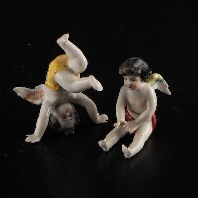 Ceramic Cherub Figurines