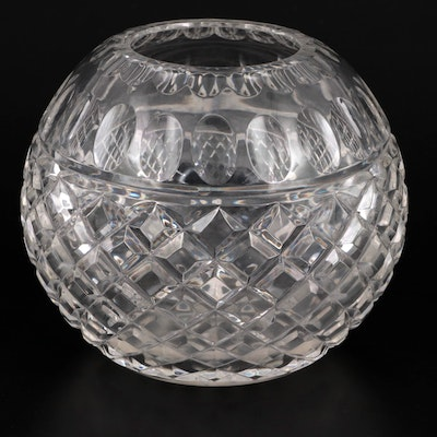 Crystal Clear Industries Crystal Rose Bowl