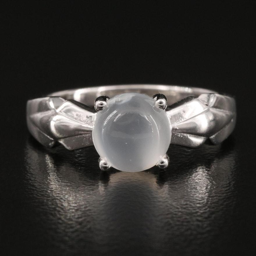 Sterling Silver Cat's Eye Ring