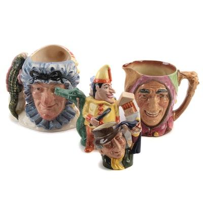"Royal Doulton ""Punch and Judy"" Character Mug and Other Ceramic Tableware"
