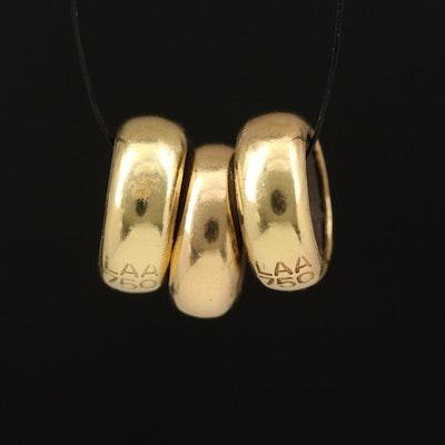 18K Trollbeads Spacer Beads