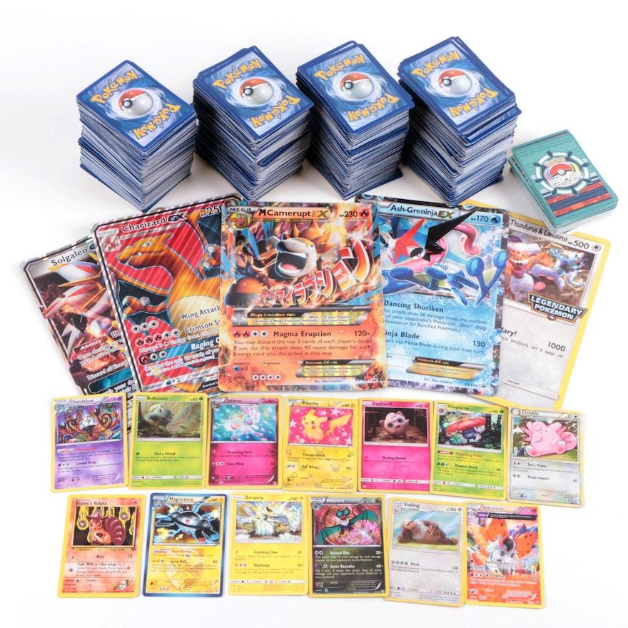 Pokémon Card Collection, Including Holo Cards