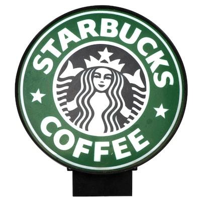 Starbucks Coffee Lighted Advertising Sign