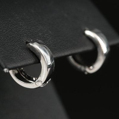 14K Huggie Earrings