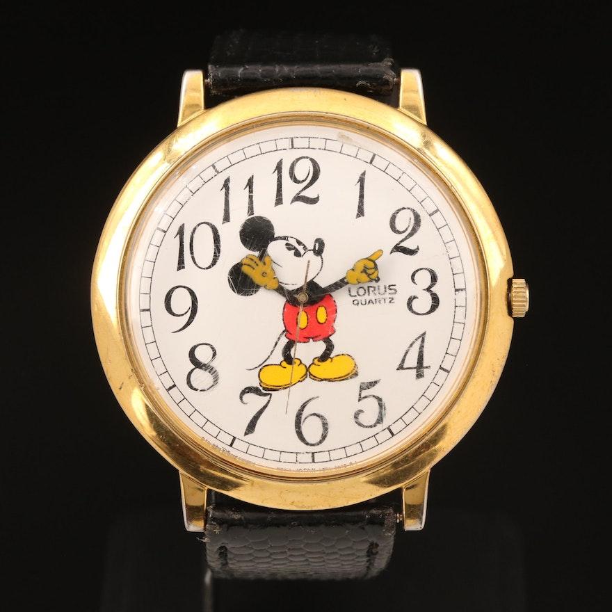 Lorus Quartz Mickey Mouse Wristwatch