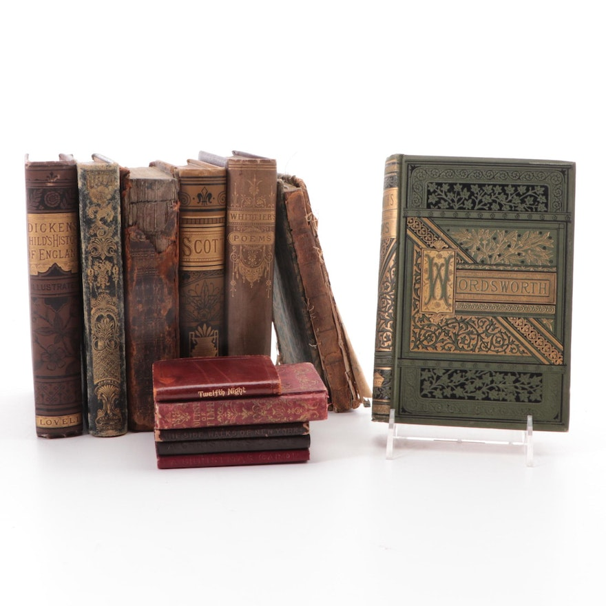 """""""The Poetry Works of Wordsworth"""" and More Nonfiction Books, 19th Century"""