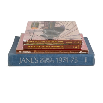 Train and Rail Road Reference Books