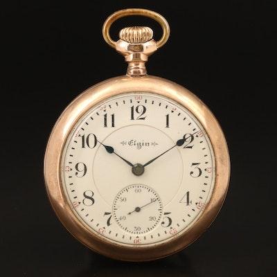 1900 Elgin Gold Filled Pocket Watch