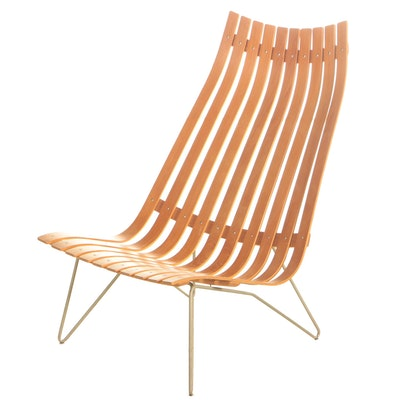 """Hans Brattrud for Hove Møbler of Norway """"Scandia"""" Lounge Chair"""