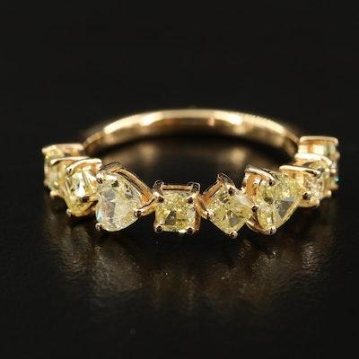 18K 1.86 CTW Diamond Band