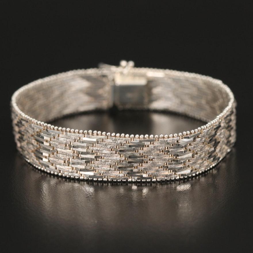 Sterling Riccio Chain Bracelet