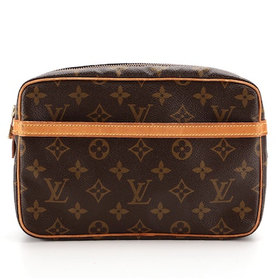 Louis Vuitton Trousse Toilette in Monogram Canvas and Leather