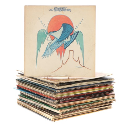 The Eagles, Willie Nelson, Stevie Wonder, Jim Croce, Other Vinyl LP Records