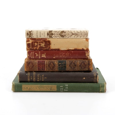 """""""The Poetical Works of Alfred Tennyson"""" and More Nonfiction Books"""