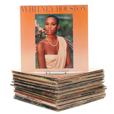 Prince, Joe Walsh, Whitney Houston, Journey, Other Vinyl Rock LP Records