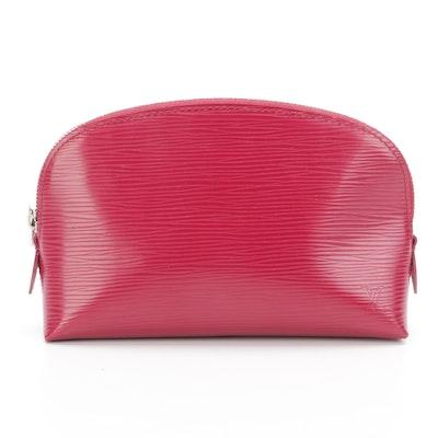 Louis Vuitton Pochette Cosmetic Case in Epi Leather