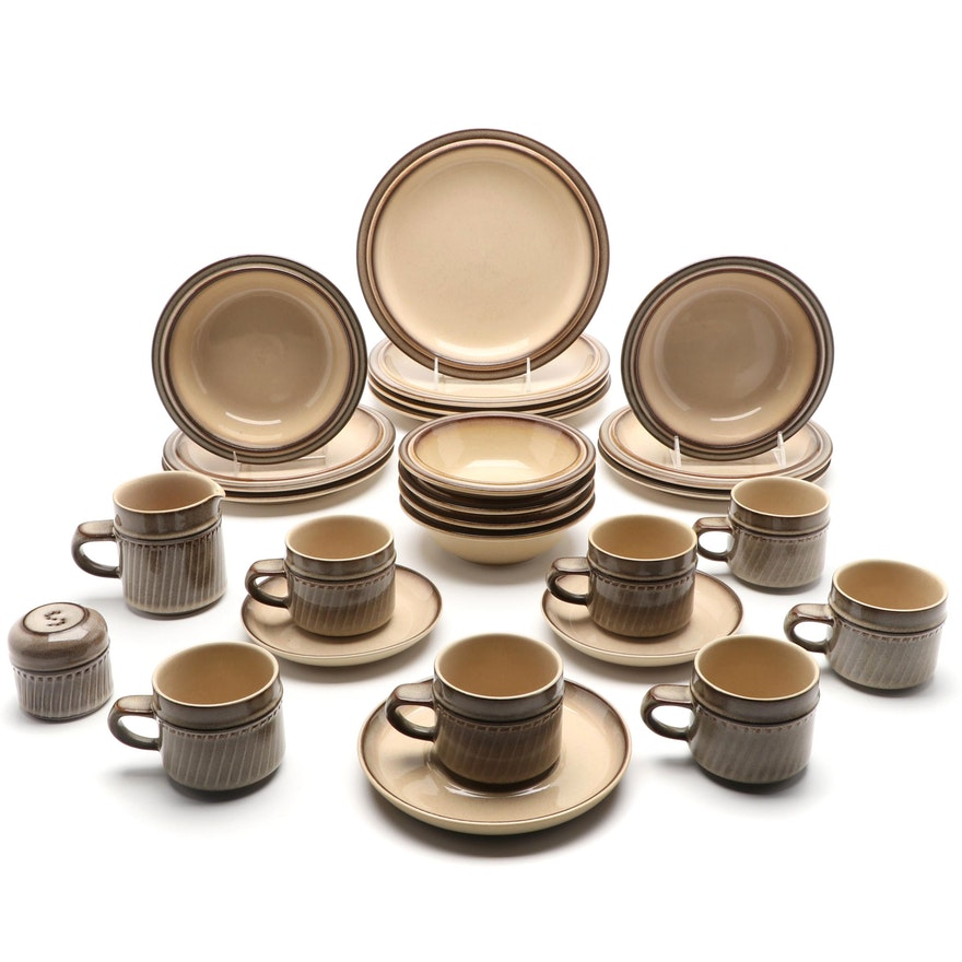 "Denby English Stoneware ""Chorus"" Tableware, Late 20th Century"