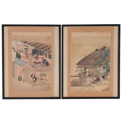 Japanese Woodblocks of Craftsmen