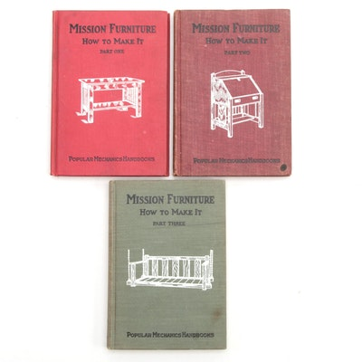 """""""Mission Furniture: How to Make It"""" Handbook Collection, Early 20th Century"""