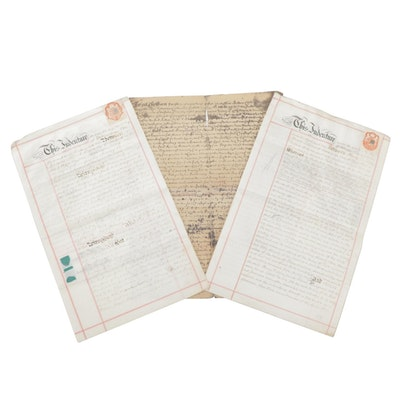 Mortgage and Conveyance Documents Concerning Land in the Isle of Wight, 1901