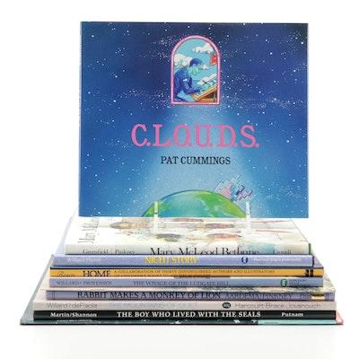 """Signed Children's Books Including """"C.L.O.U.D.S."""" by Pat Cummings"""