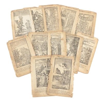"""Illustrated Pages from """"The Pilgrim's Progress,"""" 18th Century"""