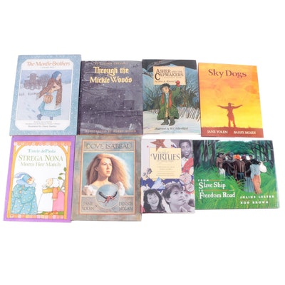 "Signed Children's Books Including ""Sky Dogs"" by Jane Yolen"