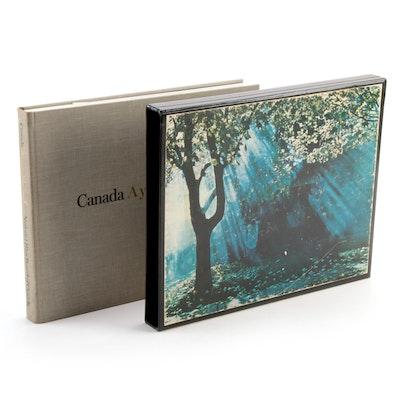 """Illustrated """"Canada: A Year of the Land"""" by Bruce Hutchison, 1969"""