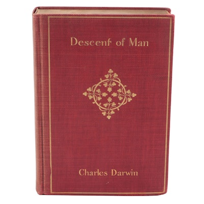 """""""The Descent of Man"""" by Charles Darwin, Early to Mid-20th Century"""