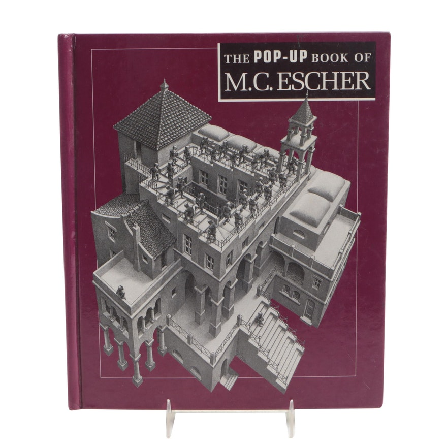 """The Pop-Up Book of M. C. Escher"" by Michael S. Sachs, 1991"