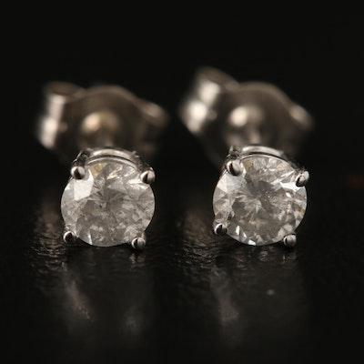 14K 0.39 CTW Diamond Stud Earrings