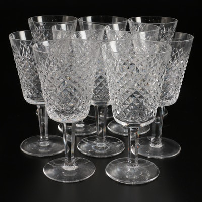 """Waterford """"Alana"""" Crystal Water Goblets"""
