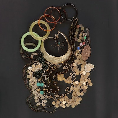 Jewelry Featuring Matisse, Renoir, Kenneth Lane and Cadoro