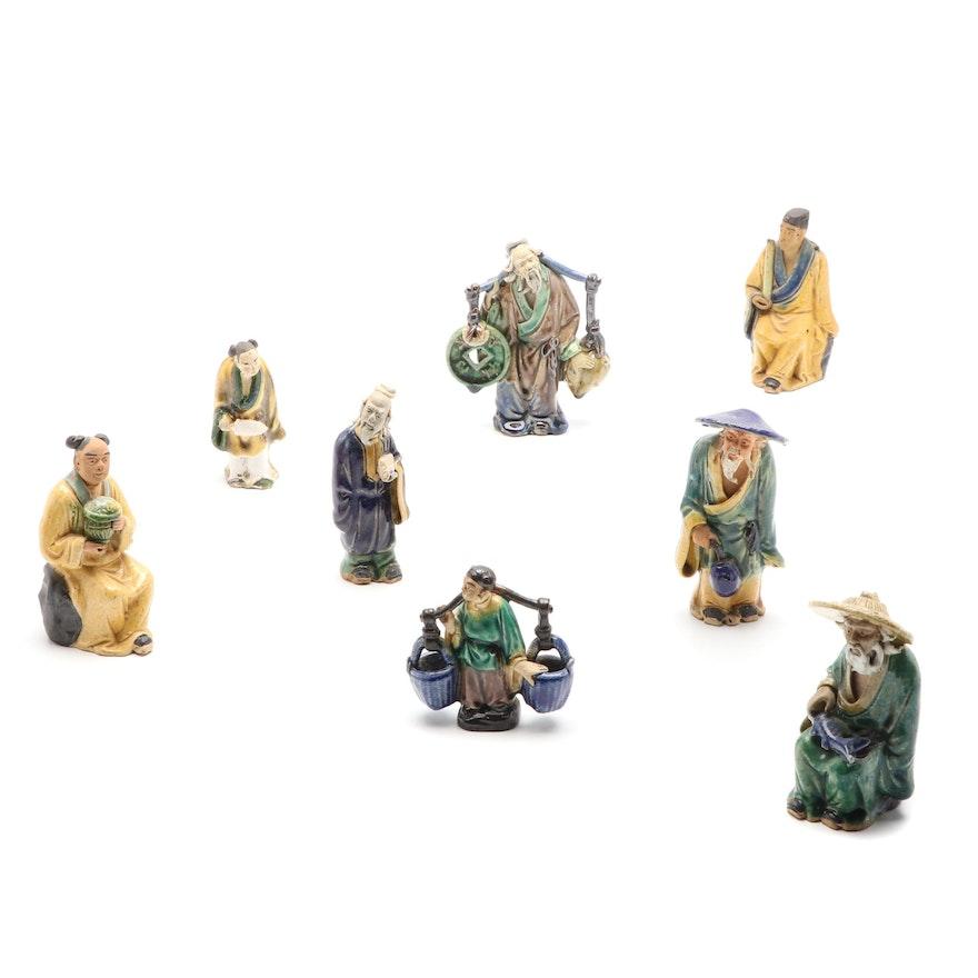 Chinese Ceramic Folk Art Figurines