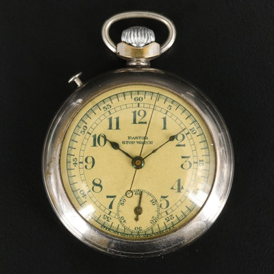 Pastor Stop Watch By Sterling Watch Co. New York