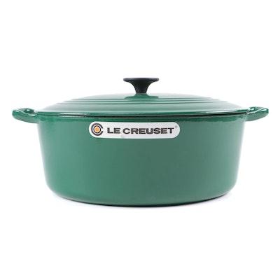 6.75 Qt. Le Creuset Oval Cast Iron Dutch Oven with Lid