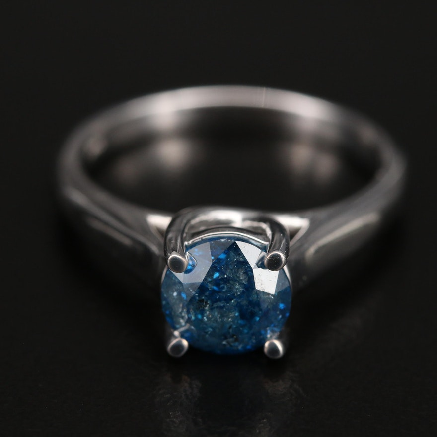 14K 1.40 CT Diamond Solitaire Ring