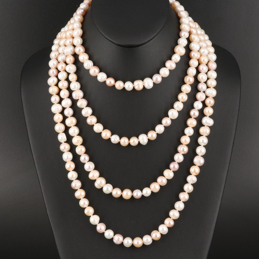 Endless Pearl Necklace