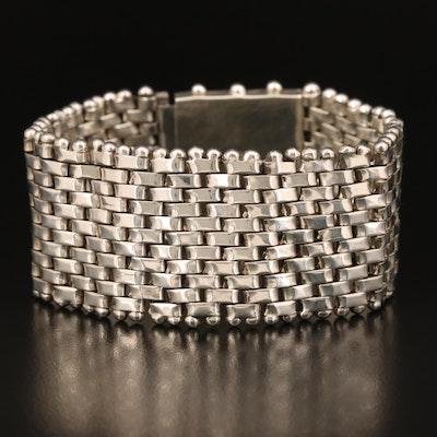 Sterling Panther Link Bracelet