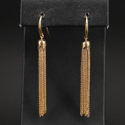Italian 14K Tassel Earrings