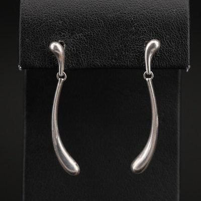 Elsa Peretti for Tiffany & Co. Sterling Teardrop Earrings