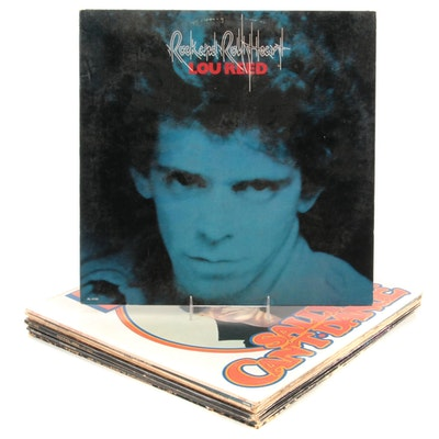 Lou Reed, Velvet Underground Vinyl LP Records