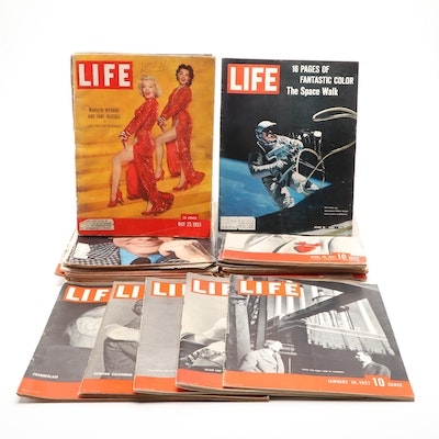 """""""Life"""" Magazine Collection Featuring Space Travel, 1930s–1970s"""