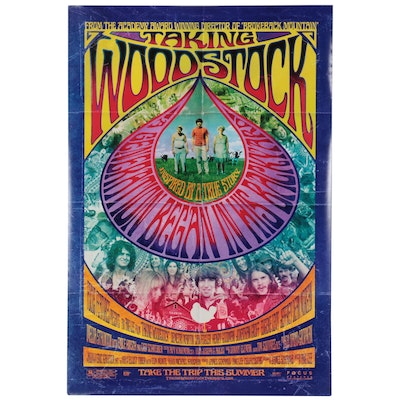 """""""Taking Woodstock"""" Theatrical Release One Sheet Movie Poster, 2009"""