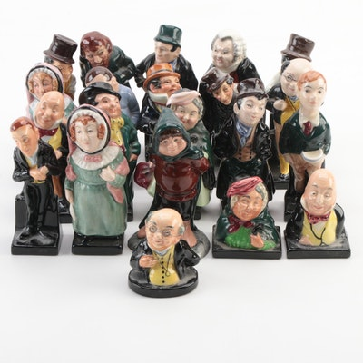 """Royal Doulton """"Samwise"""", """"Sairey Gamp"""" and Other Character Figurines"""