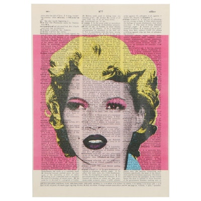 Offset Lithograph of Marilyn Monroe, 21st Century
